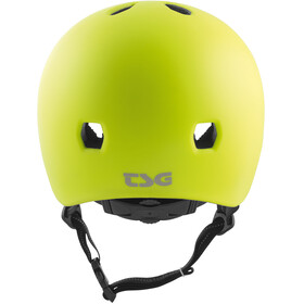 TSG Meta Solid Color Helmet satin acid yellow